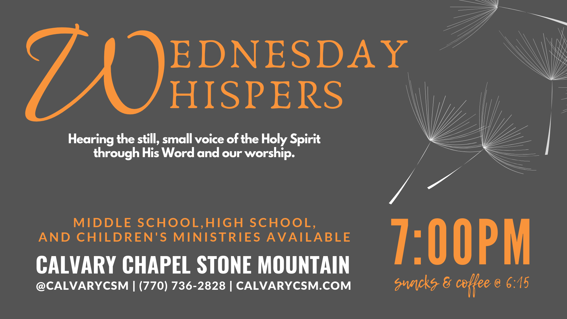 Home - Calvary Chapel Stone Mountain